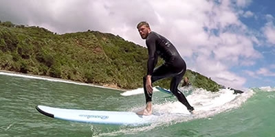 UP Surf Coaching Raglan