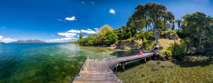 Lake Tarawera (Credit: Adrian Hodge)